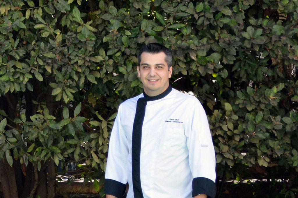 Ο Sous Chef Γιάννης Γιαννούκος