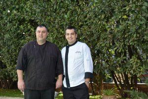 Chef Χρήστος Χρυσικόπουλος - Sous Chef Γιάννης Γιαννούκος